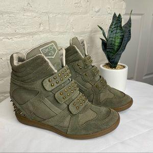 Skechers SKCH +3 Spike Wedge Sneakers 7